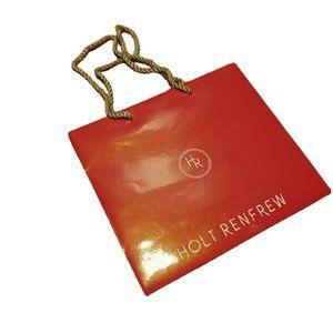 HOLT RENFREW gift shopping bag small